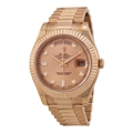 Champagne Rolex Day-Date II 218235CDP Casual Watches Mens