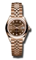 Chocolate Rolex Lady Datejust 279165CHRDJ Luxury Watches Ladies