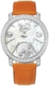 Chopard Happy Diamonds 207450-1002 Ladies Mother of Pearl with Floating Diamonds Luxury Watches