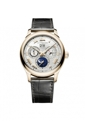 Chopard L.U.C. 161927-5001 Mens Sunray Satin-Brushed Silver Luxury Watches