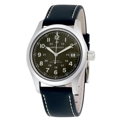 Dark Green Hamilton Khaki Field H70455863 Casual Watches Mens