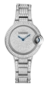 Diamond Pave Cartier Ballon Bleu de Cartier HPI00562 Luxury Watches Ladies