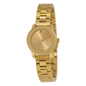 Gold Movado Bold 3600235 Dress Watches Ladies
