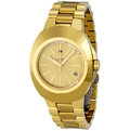 Gold Sunburst Rado Diastar R12950253 Casual Watches Mens