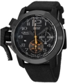 Graham Mens Black PVD Stainless Steel Luxury Watches