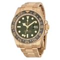 Green Rolex GMT Master II 116718GSO Luxury Watches Mens