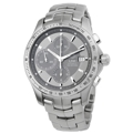 Grey Guilloche Tag Heuer Link Sport Watches Mens