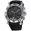 Grey with 5 Floating Diamonds (0.50 ct) Chopard Happy Sport 288499-3011 Luxury Watches Mens
