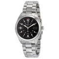 Hamilton Khaki Field H68551933 Mens Black Dress Watches
