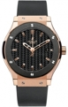 Hublot Classic Fusion Mens Carbon Casual Watches