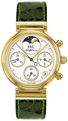 IWC Da Vinci IW373602 Ladies 18kt Yellow Gold Dress Watches