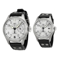 IWC Pilots Watches IW500906 IW325519 Rhodium Dress Watches
