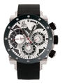 Jacob & Co. Epic II E1C Mens Silver and Black Carbon Fiber Luxury Watches
