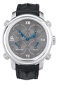 Jacob & Co. Five Time Zone h24SSLS Mens Sapphire Luxury Watches