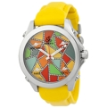 Jacob & Co. Five Time Zone JCM117DA Unisex Multi-colored dial with diamond accents (0.66 ctw) Luxury Watches