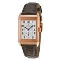 Jaeger LeCoultre Reverso Duo Q2712410 Mens Silver Luxury Watches