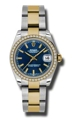 Ladies Rolex Datejust Casual Watches 178383BLSO