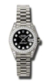 Ladies Rolex Lady Datejust Luxury Watches 179159BKDP