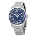 Longines HydroConquest L36894036 Mens Blue Casual Watches