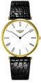Longines La Grande Classique L4.766.2.11.2 Gold PVD Stainless Steel Dress Watches