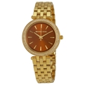 Michael Kors MK3408 Ladies Gold-tone Stainless Steel Casual Watches