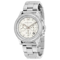 Michael Kors MK6062 Silver Baguette Crystal Casual Watches