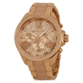 Michael Kors MK6096 Rose Gold PVD Stainless Steel Luxury Watches