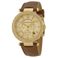 Michael Kors Parker MK2249 Ladies Gold Ion-plated Stainless Steel Fashion Watches