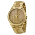 Michael Kors Runway MK4285 Ladies Champagne Fashion Watches