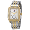 Michele Deco MWW06V000023 Ladies White Mother of Pearl Casual Watches