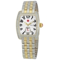 Michele MWW02A000245 Ladies White Guilloche Luxury Watches