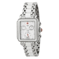 Michele MWW06P000188 Ladies White Enamel Dress Watches