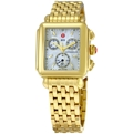 Michele W06A000210 Ladies Gold-Tone Stainless Steel Dress Watches