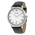 Montblanc 112633 Mens Stainless Steel Luxury Watches