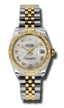 Mother of Pearl Rolex Datejust 178343MRJ Casual Watches Ladies