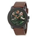 Movado 3600302 Mens Green, Brown and Beige Camouflage-Print