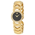 Movado Rondiro 0605529 Ladies Black Fashion Watches