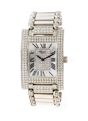 Natural Pearl-Diamond Chopard 173451-1001 Ladies