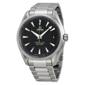 Omega 23110422101004 Mens Stainless Steel Dress Watches