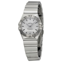 Omega Constellation 123.10.24.60.02.002 Ladies Silver Dress Watches