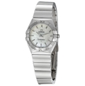 Omega Constellation 123.10.24.60.05.002 Ladies White Mother of Pearl Dress Watches