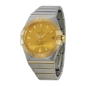 Omega Constellation 12320382108001 Mens Stainless Steel Dress Watches