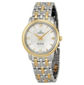 Omega DeVille 424.20.27.60.05.001 Ladies White Mother of Pearl Casual Watches
