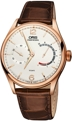 Oris 110-7700-6081LS Mens 18kt Rose Gold Luxury Watches