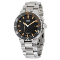 Oris Aquis 01 743 7709 7184-Set MB Mens Black Dress Watches