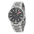 Oris Aquis 01 749 7677 7154-Set Black Sport Watches