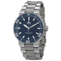 Oris Divers 01 733 7653 4155-07 8 26 01PEB Mens Blue Casual Watches