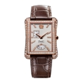 Piaget G0A33074 Mens 18K Rose Gold Case Set with Diamonds Luxury Watches