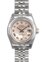 Pink Decorated Mother of Pearl Rolex Datejust 179174PMRJ Luxury Watches Ladies