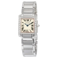 Quartz Cartier Tank Ladies 25 mm x 20 mm Luxury Watches
